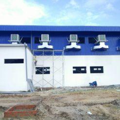 hệ thống làm mát nhà xưởng bằng quạt hơi nước