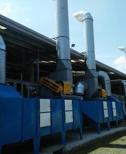 hệ thống hút mùi công nghiệp