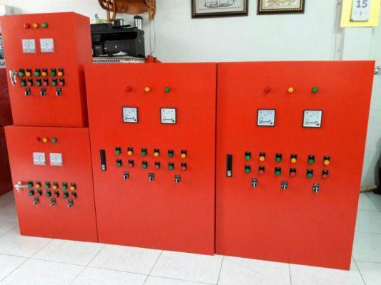 tủ điện phòng cháy