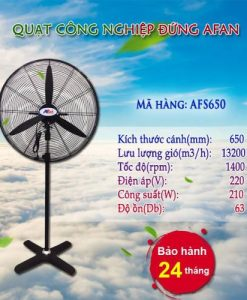 Quạt đứng công nghiệp AFAN FS-650