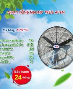 Quạt treo công nghiệp AFAN FW750